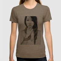 Serpentine Womens Fitted Tee Tri-Coffee SMALL