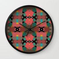 Geometic Crazy Mirror  Wall Clock