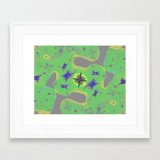 digital art for peace 2 Framed Art Print