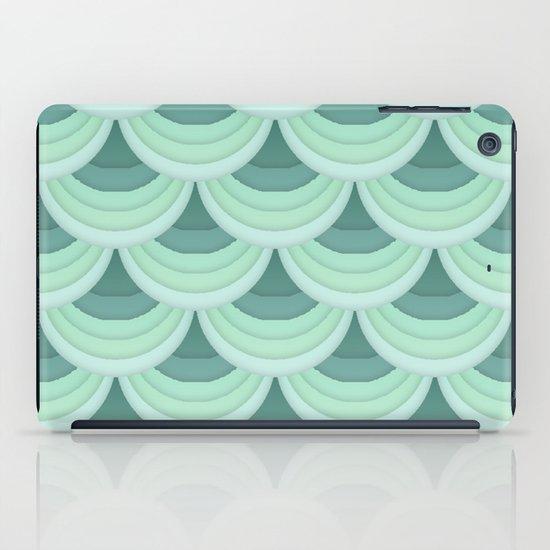 Ocean Fan Tail. iPad Case
