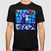 Gracia Mens Fitted Tee Tri-Black SMALL