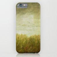 Vintage Wheat Field iPhone 6 Slim Case