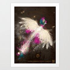 Robin Williams to Infinity and Beyond! Art Print