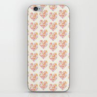 Pour Toujours Pattern iPhone & iPod Skin