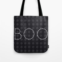 Boo Halloween Tote Bag