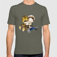 BFF Mens Fitted Tee Lieutenant SMALL