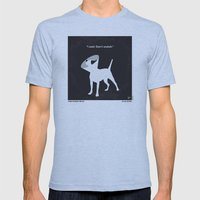 No079 My Snatch Minimal … Mens Fitted Tee Athletic Blue SMALL