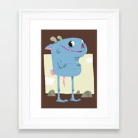 Gordurello Framed Art Print