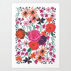 blooming love Art Print