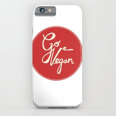Go vegan iPhone 6s Slim Case