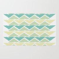 Ocean Triangles Rug