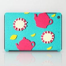 Turquois Tea iPad Case