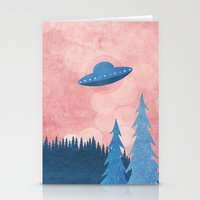 Unidentified Flying Obje… Stationery Cards