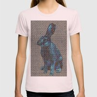 Blue Hare Womens Fitted Tee Light Pink SMALL