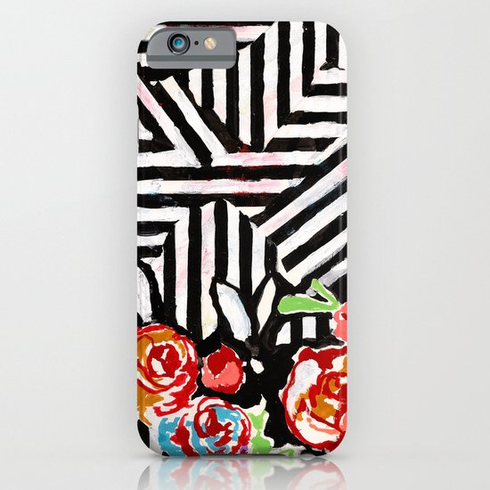 Mountains and Flowers iPhone & iPod Case