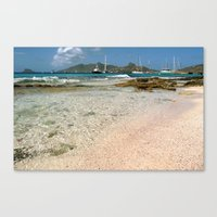 clear day in heaven Canvas Print