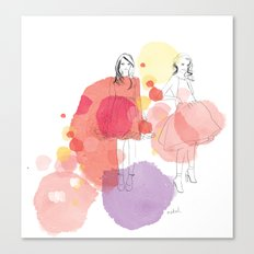 Amelia's Party Canvas Print