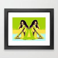 EmR Framed Art Print