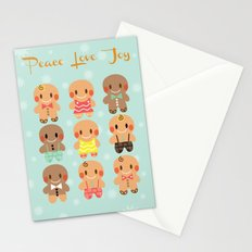 Gingerbread Love Stationery Cards