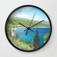 Lake Tahoe 1 Wall Clock