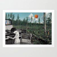 Ballad Of The Wilderness… Art Print
