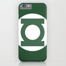 Green Lantern Vector Logo iPhone 6s Slim Case
