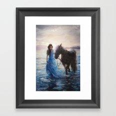 Morning Through The Stars Framed Art Print