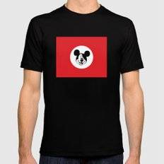 Genosse Mouse SMALL Black Mens Fitted Tee