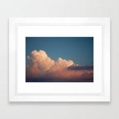 Skies 02 Framed Art Print