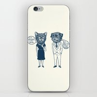 Types Of People iPhone & iPod Skin