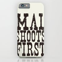 Mal Shoots First iPhone 6 Slim Case