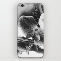Look Behind the Orchids iPhone & iPod Skin