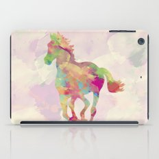 Abstract Horse iPad Case