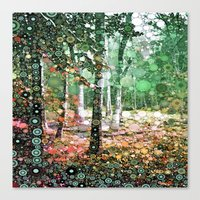 :: Walk in the Woods :: Canvas Print