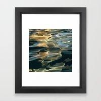 Water / H2O #42 (Water A… Framed Art Print