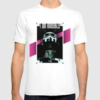 I AM INVISIBLE Mens Fitted Tee White SMALL