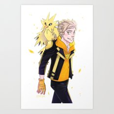 Instinct - Spark Art Print