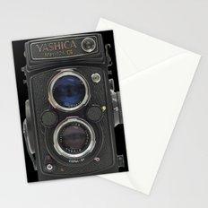 Vintage Camera (Yashica  124 G) Stationery Cards