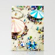 Stationery Cards featuring Carnivale by Mina Teslaru