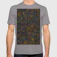 Let Go - color Mens Fitted Tee Athletic Grey SMALL