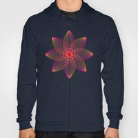 Gradient Strings Blossoms Hoody