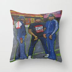 Who's House? Throw Pillow