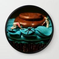 The Cake Decorators Wall Clock