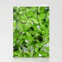 Birch Leaves 5051 Stationery Cards