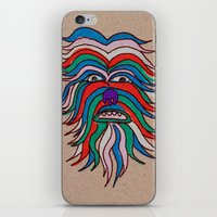 iPhone & iPod Skin featuring whacky wookie by ronnie mcneil