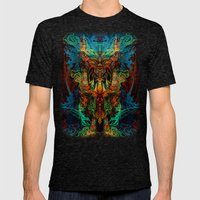 Shaman Mens Fitted Tee Tri-Black SMALL