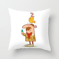 Somethin' About Nature Throw Pillow
