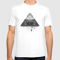 Darkside  Mens Fitted Tee White SMALL