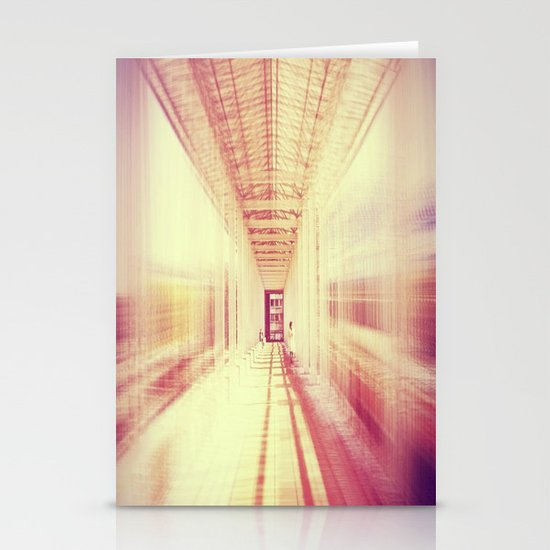 blur  Stationery Card