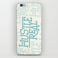 The Hustle is Real iPhone & iPod Skin